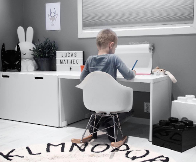 Kids Homework Station | Lorena Canals Rugs