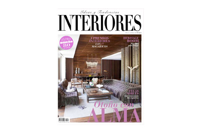 Revista Interiores con Lorena Canals