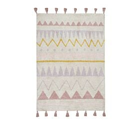 Washable Rug Azteca Natural Vintage Nude L