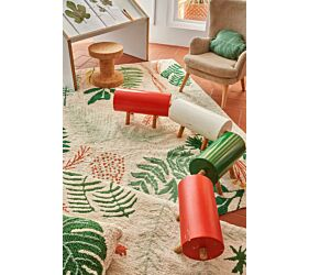 Washable Rug Botanic Plants M