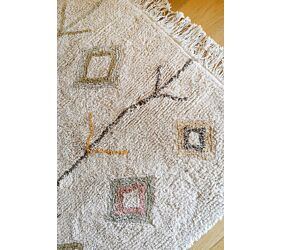 Washable Rug Kaarol Earth L