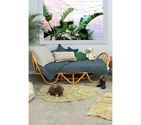 Alfombra Lavable Mini Monstera Olive