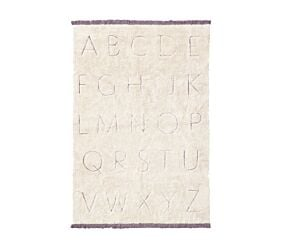 RugCycled Washable Rug ABC M