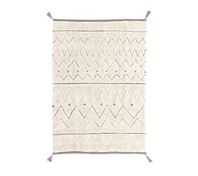 RugCycled Washable Rug Azteca S