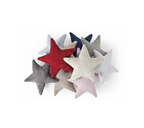 Washable Cushion Star - Dark Grey