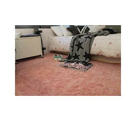 Alfombra Lavable Aarty Flamingo Pink