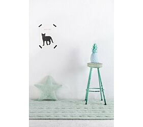 Tapis Lavable Braids Soft Mint - Petit