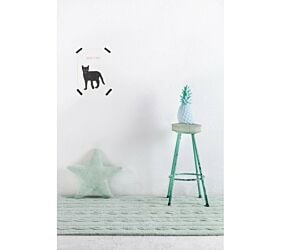 Washable Rug Braids Soft Mint S