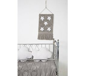 Colgante Pared Stars Gris