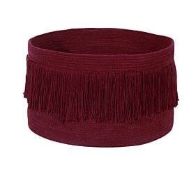 Basket Fringes Savannah Red