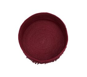Panier Fringes Savannah Red