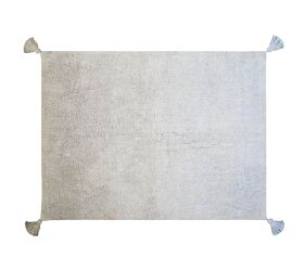 Washable Rug Grey - Baby Blue