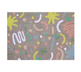 Washable Rug Happy Party