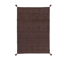 Washable rug Tribu Soil Brown M