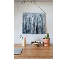 Colgante Pared Tie-Dye Vintage Blue