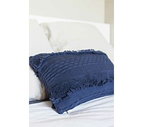 Washable Knitted Cushion Air Alaska Blue