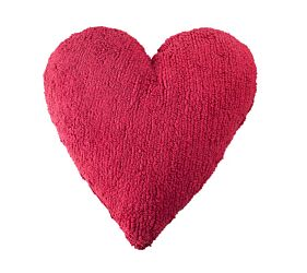 Washable Cushion Heart - Fucshia
