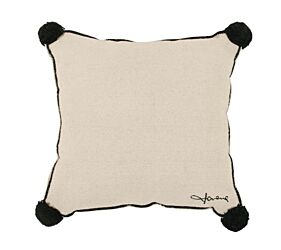 Washable Cushion Square Beige