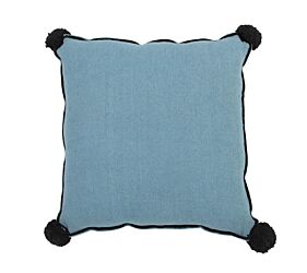 Washable Cushion Square Petroleum