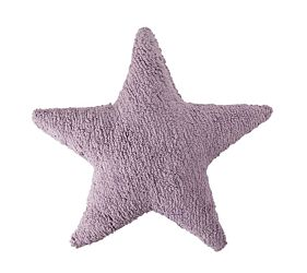 Washable Cushion Star - Purple