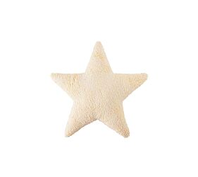 Washable Cushion Star Vanilla